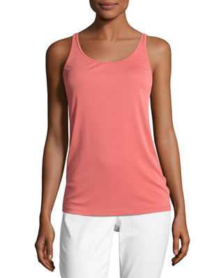 Eileen Fisher Stretch Silk Long Cami