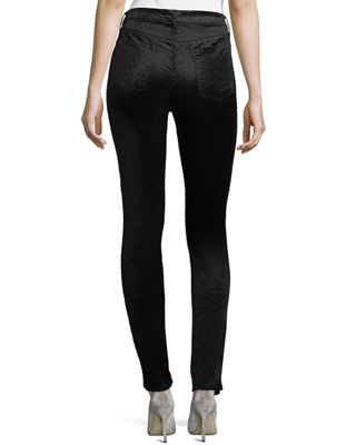 Image 2 of 3: Velvet Ankle Skinny Pants
