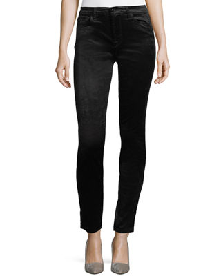 Image 1 of 3: Velvet Ankle Skinny Pants
