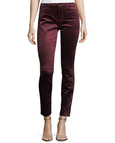 Jen7 by 7 for All Mankind Velvet Ankle