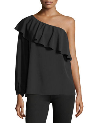 7 for all mankind ONE SHOULDER ONE SLEEVE