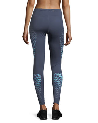Image 3 of 5: Power Legend High-Rise Performance Training Tights