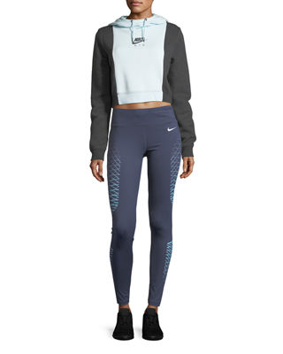 Image 4 of 5: Power Legend High-Rise Performance Training Tights