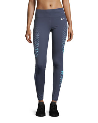 Image 1 of 5: Power Legend High-Rise Performance Training Tights