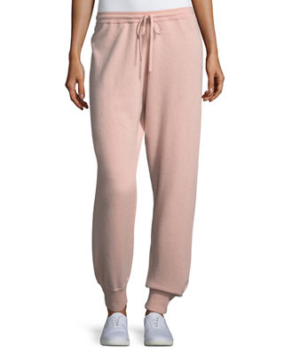Theory Cashmere Athletic-Stripe Lounge Pants and Matching Items