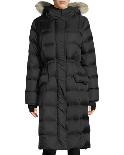 Lunenberg Hooded Parka Jacket with Fur Trim