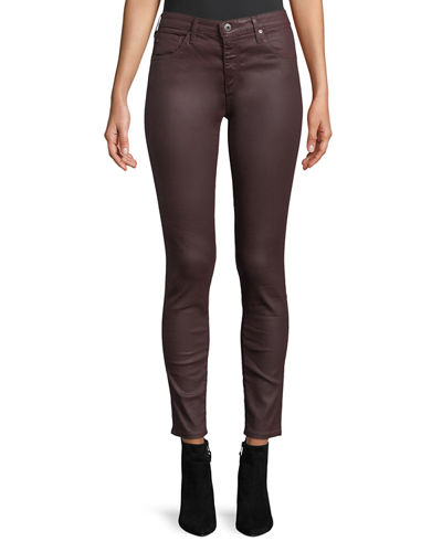 Sateen Ankle Leggings
