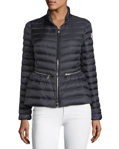 Agate Short Quilted Puffer Jacket