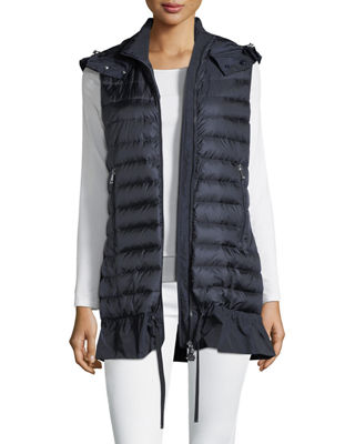 Quilted Drop-Waist Gilet