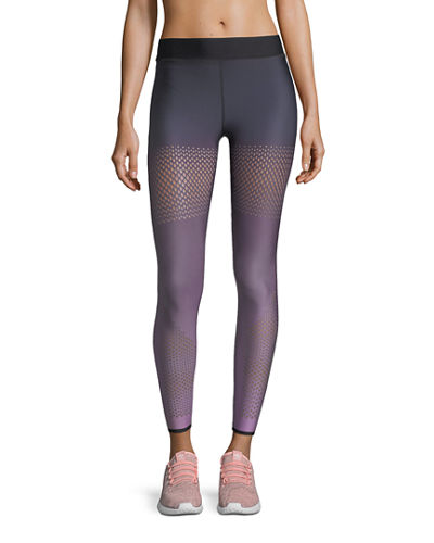 Ultramesh Full-Length Leggings with Mesh Inserts