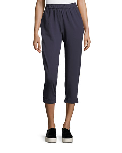 069506917e5467 Quick Look. Eileen Fisher · Jersey Slouchy Cropped Pants