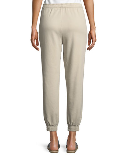 Stretch Interlock Jogger Pants, Plus Size