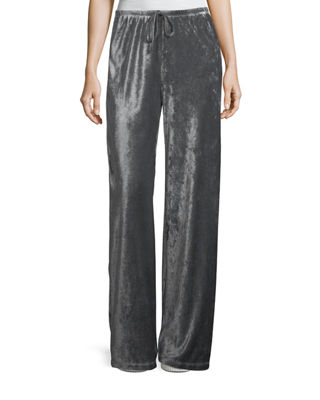 Josephine Velour Easy Pants, Plus Size