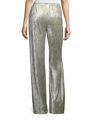 Image 2 of 2: Josephine Velour Easy Pants
