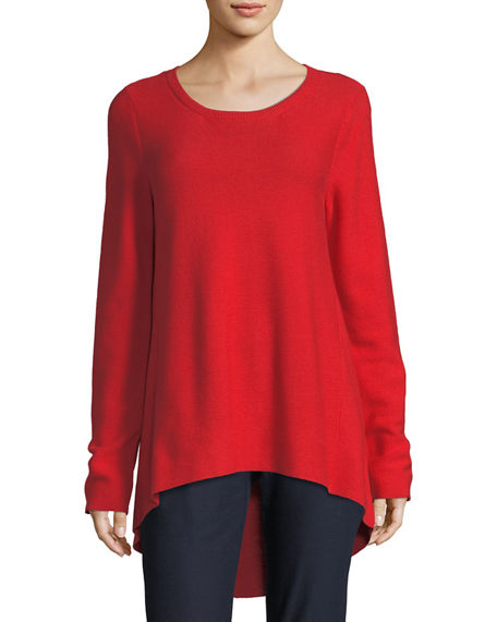 Eileen Fisher Peruvian Organic Cotton Tunic
