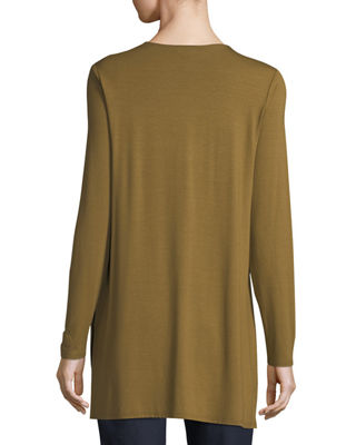 Image 2 of 2: Long-Sleeve Jersey Tunic