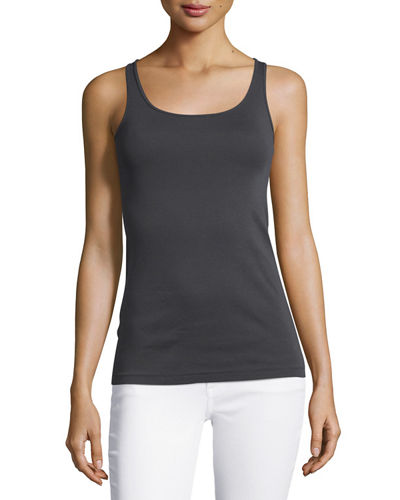 Long Organic Cotton Tank Top