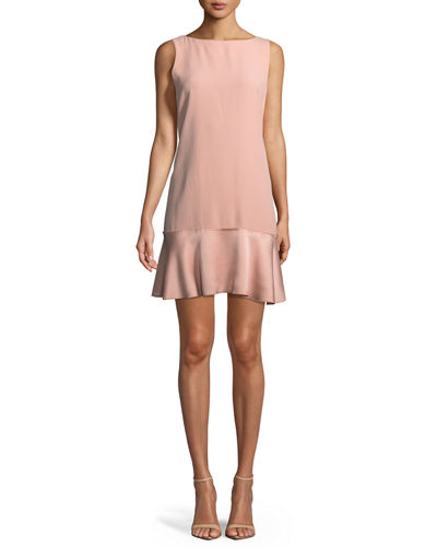 Flirty Flare A-line Kensington Crepe Dress