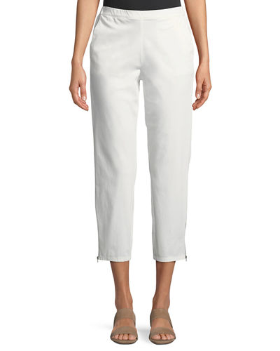 Masai Padme Cotton Stretch Cropped Chino Pants and