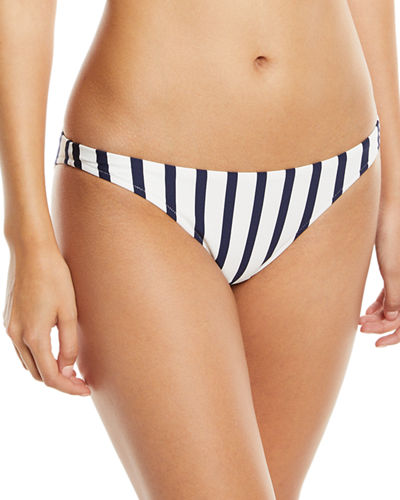 St. Lucia Striped Bikini Swim Bottom
