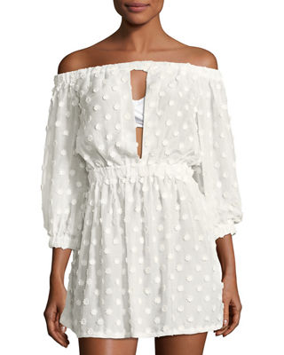 Jenny Off-the-Shoulder Cover Dress