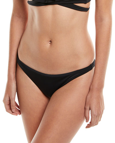 Milly St. Lucia Solid Bikini Swim Bottoms and