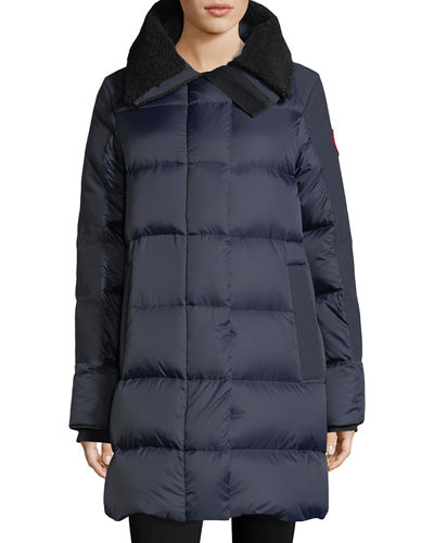 Altona Quilted Puffer Coat