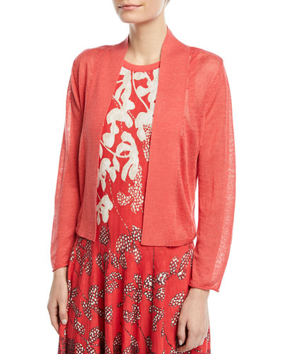 Daybreak Open-Front Cardigan, Plus Size