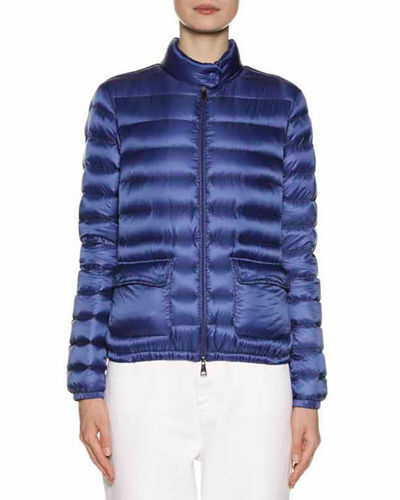 1c8a780f533 Quick Look. Moncler · Lans Collared Down Jacket