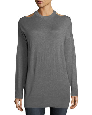 Canarise Cutout Cashmere-Blend Sweater