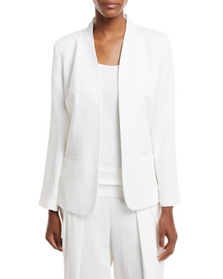 Corded Tencel® Simple Blazer, Plus Size