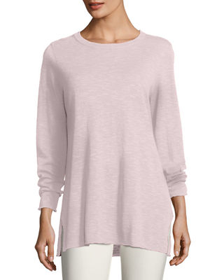 Easy Long-Sleeve Pullover Tunic