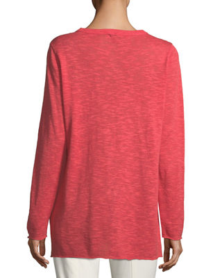 Image 2 of 2: Easy Long-Sleeve Pullover Tunic