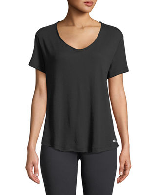 Alo Yoga Playa Scoop-Neck Tee