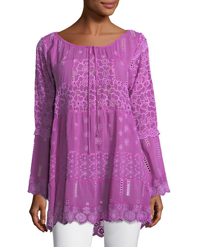 Mixed Tiered Tunic, Plus Size