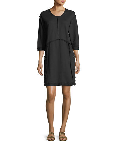 Palma Super Soft Terry Cotton Dress, Plus Size