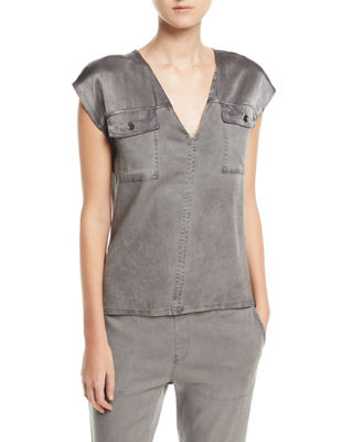 XCVI Santucci Twill Top and Matching Items &