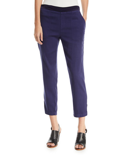 Santucci Stretch Twill Pants, Plus Size