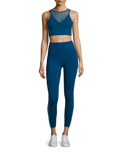 Ommmbre Mesh High-Waist Legging