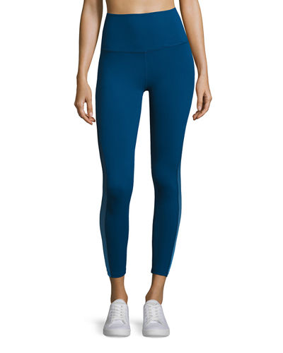 Beyond Yoga Ommmbre Mesh High-Waist Legging