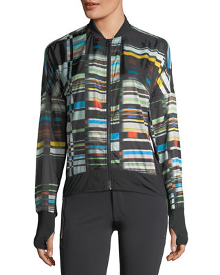Image 2 of 5: Featherweight Stripe-Print Jacket