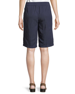 Image 2 of 3: Tencel® Linen Walking Shorts