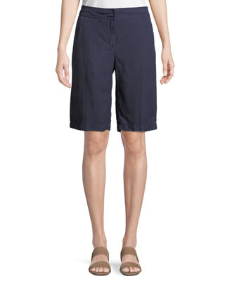 Image 1 of 3: Tencel® Linen Walking Shorts