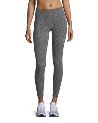 Beyond Yoga Cross It Back Space-Dye Midi Leggings