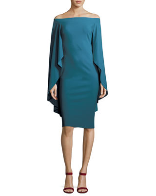 Image 1 of 2: Francoise Capelet Mermaid Cutout Cocktail Dress