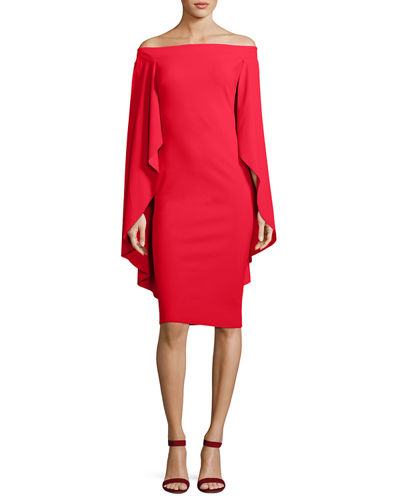 Francoise Capelet Mermaid Cutout Cocktail Dress