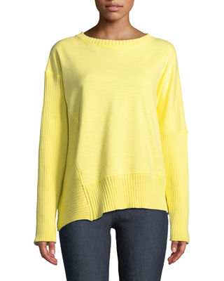 Neon Buddha South Beach Pullover Sweater w/ Asymmetric