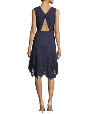 Image 2 of 3: Bridley Lace High-Low Dress