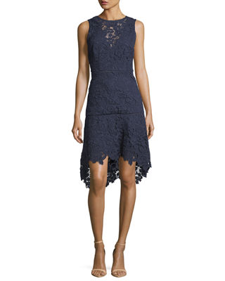 Image 1 of 3: Bridley Lace High-Low Dress