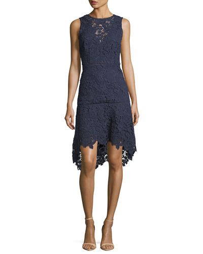 Bridley Lace High-Low Dress